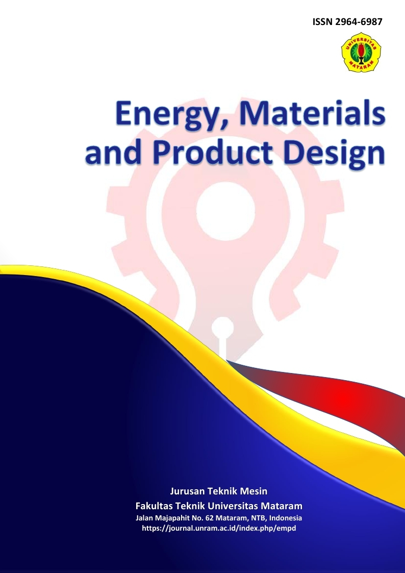 Energy, Materials and Product Design